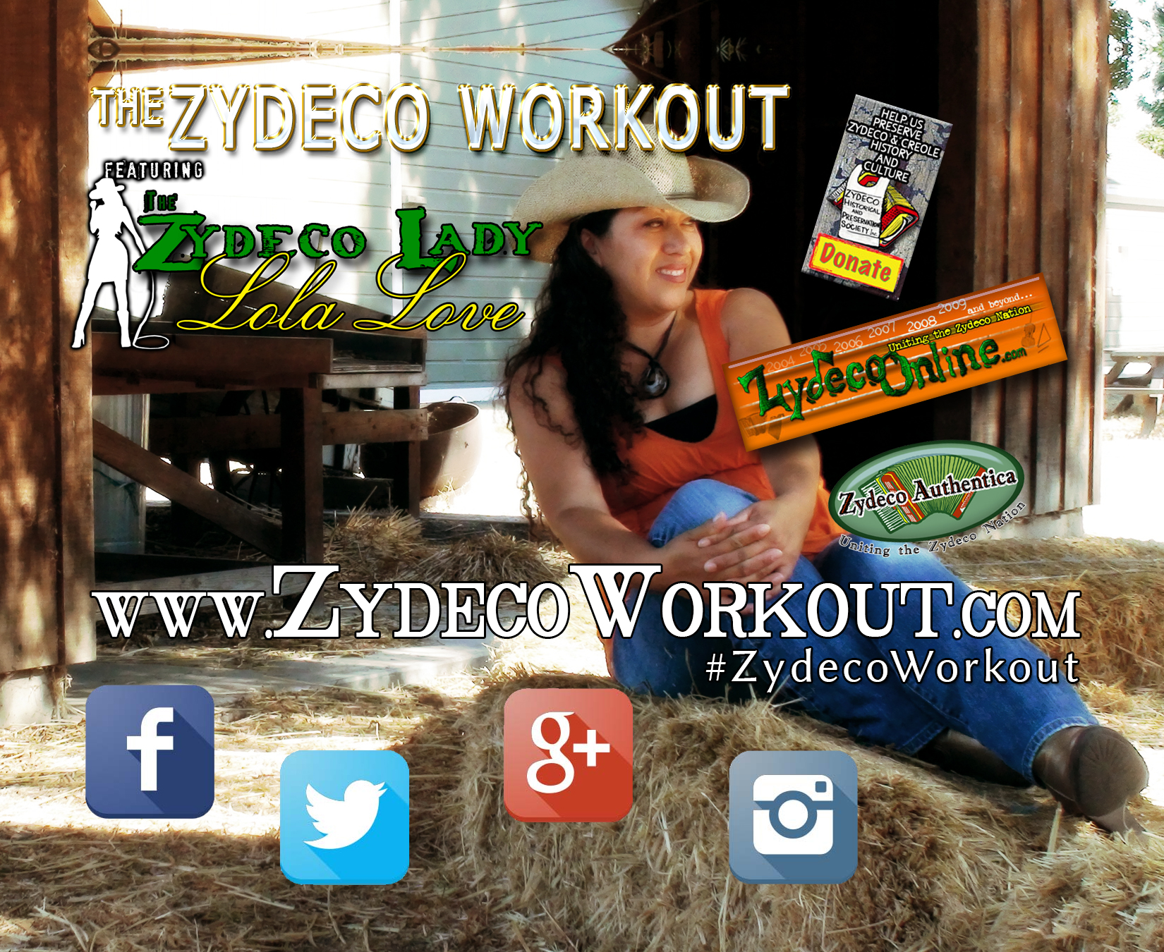 Zydeco Workout Flyer